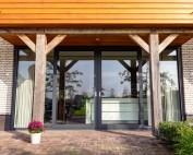 Nieuwbouwwoning in Hulsel compleet voorzien van aluminium deuren en kozijnen